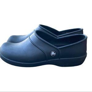 Crocs Neria Women 10W Slip Resistant Loafer Shoe